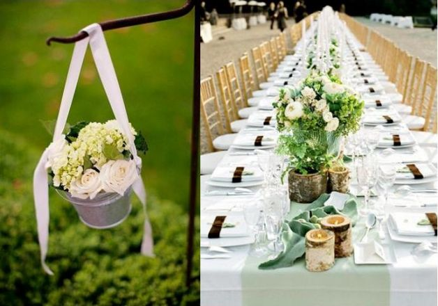 Idee matrimonio primavera decorazioni country si weddings for Decorazioni giardino matrimonio